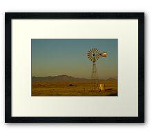 Windmill, Tucson Framed Print