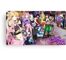 Moon Gang Canvas Print