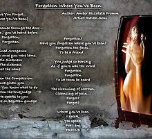 Forgotten Where You've Been ... by Amber Elizabeth Fromm Donais