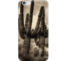 Saguaros and Clouds iPhone Case/Skin