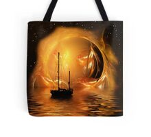 Molten Sunset Tote Bag