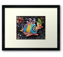 While the Patient Slept Framed Print