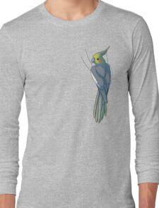 Normal Gray Female Cockatiel Long Sleeve T-Shirt