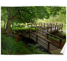 Park bridge Poster