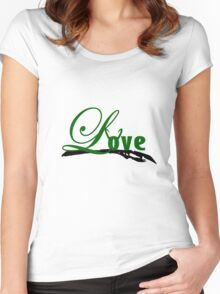 Fall in love with Loki Women's Fitted Scoop T-Shirt