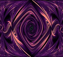 Purple Palace Abstract. by PauletteHurley