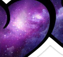 Galaxy Infinity Hearts Sticker