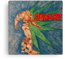 Onward Robot Canvas Print