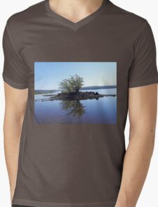 Tranquil Island Mens V-Neck T-Shirt