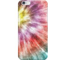 Color Filled Tie Dye iPhone Case/Skin