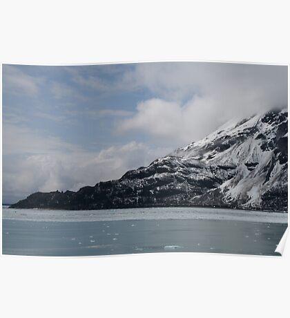 Hubbard Glacier Entrance Poster