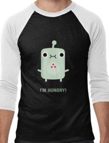 Little Monster - I'm Hungry! Men's Baseball ¾ T-Shirt