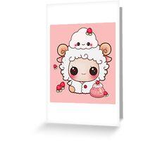 Sheepy Sheep Greeting Card