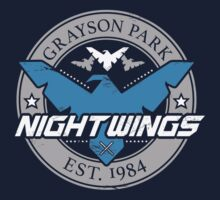 Grayson Park Nightwings Grey Blue (02 of 04) T-Shirt