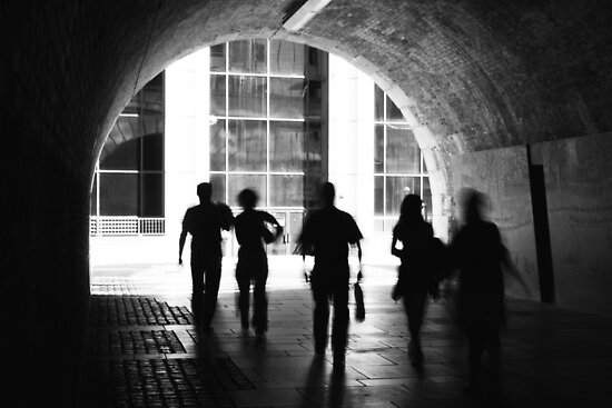Shadows (version 2) by Lynette Dobson