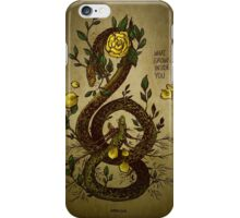 WHAT GROWS INSIDE YOU iPhone Case/Skin
