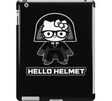 Hello Helmet iPad Case/Skin