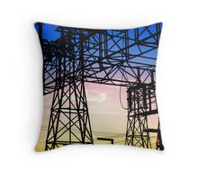 Power Defined Throw Pillow