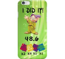 Dopey challenge iPhone Case/Skin