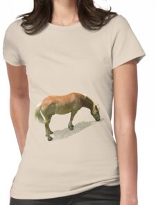 Horse from Kristberg (T-Shirt & iPhone case) Womens Fitted T-Shirt