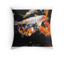 Koi 2 Throw Pillow