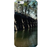 Chinaman's Bridge, Nagambie iPhone Case/Skin