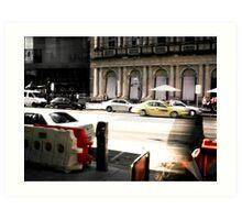 Melbourne2 Art Print