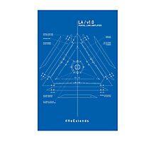 ingress : LA blueprint Photographic Print
