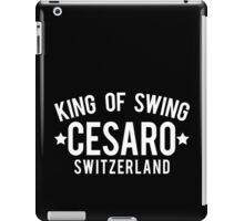 King Of Swing iPad Case/Skin
