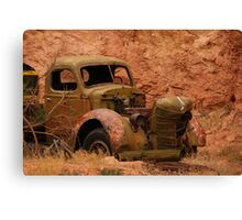Used Truck Canvas Print