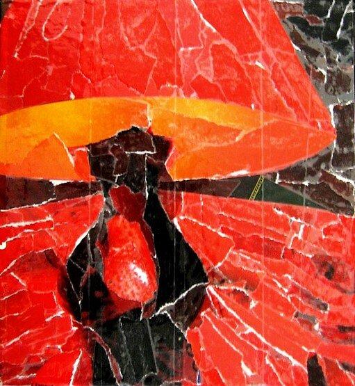 Red Lamp by Derek Shockey