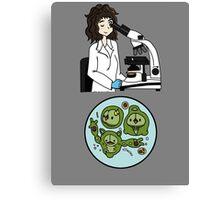 Biology with Pokemon ! Canvas Print