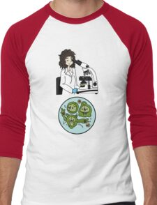 Biology with Pokemon ! Men's Baseball ¾ T-Shirt