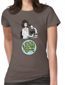 Biology with Pokemon ! Womens Fitted T-Shirt