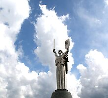 Statue of Victory, Kiev #2 by Mariya Manzhos
