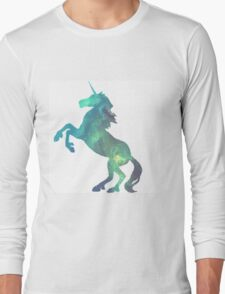 Galactic Unicorn (White) Long Sleeve T-Shirt
