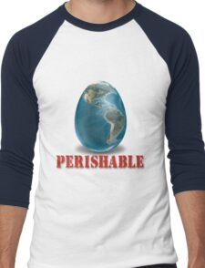 Earth-Perishable Men's Baseball ¾ T-Shirt