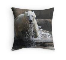polar jump Throw Pillow