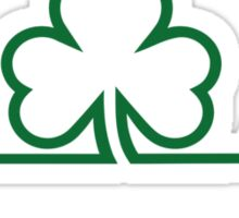 Shamrock frequency Sticker
