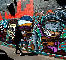 Walk On #14  -  Minns Lane Geelong by bekyimage