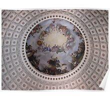 United States Capitol Dome Fresco Poster