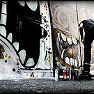 Leaving Your Mark - Union Lane Melbourne  2013 by bekyimage