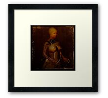 The perfect woman; test subject #2 Framed Print