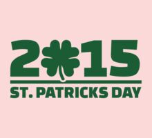 St. Patrick's day 2015 One Piece - Short Sleeve