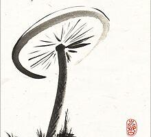 Parasol Mushroom by Ron C. Moss