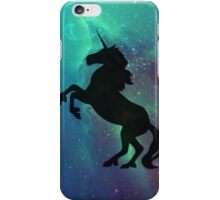 Galactic Unicorn (Black) iPhone Case/Skin