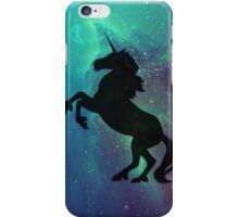 Galactic Unicorn (Black) iPhone Case/Skin