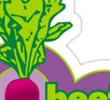 beetroot to yourself Sticker