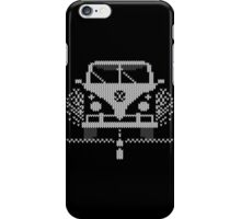 Knit Style Volks Camper Van iPhone Case/Skin