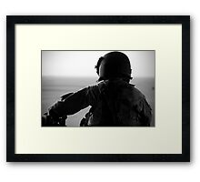 Crew Chief Framed Print